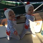 Crabby Pants on the Sailboat